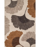 RugStudio presents Loloi Eden Edenea-02 Ivory / Copper Hand-Tufted, Good Quality Area Rug