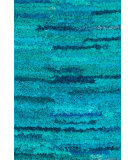 RugStudio presents Rugstudio Sample Sale 93919R Aqua Area Rug