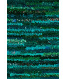 RugStudio presents Loloi Eliza Shag Ei-01 Emerald Area Rug