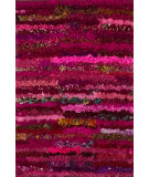 RugStudio presents Loloi Eliza Shag Ei-01 Raspberry Area Rug
