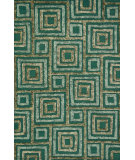 RugStudio presents Rugstudio Sample Sale 92084R Teal / Multi Woven Area Rug