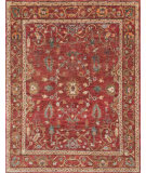 RugStudio presents Loloi Empress Empreu-05 Red / Red Hand-Knotted, Good Quality Area Rug