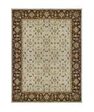 RugStudio presents Loloi Elmwood EW-01 Ivory-Brown Hand-Tufted, Better Quality Area Rug
