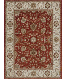 RugStudio presents Loloi Elmwood Ew-07 Red / Ivory Hand-Tufted, Best Quality Area Rug