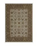 RugStudio presents Loloi Elmwood EW-08 Ivory-Sage Hand-Tufted, Better Quality Area Rug
