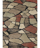 RugStudio presents Loloi Expression EX-03 Charcoal - Granite Machine Woven, Good Quality Area Rug