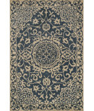 RugStudio presents Loloi Fairfield Ff-24 Blue - Ivory Hand-Tufted, Good Quality Area Rug