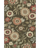 RugStudio presents Loloi Francesca Fc-02 Brown Hand-Hooked Area Rug