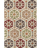 RugStudio presents Loloi Francesca Fc-16 Beige / Multi Machine Woven, Good Quality Area Rug