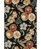 RugStudio presents Loloi Francesca Fc-17 Black Hand-Hooked Area Rug