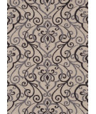 RugStudio presents Loloi Francesca Fc-18 Ivory / Grey Hand-Hooked Area Rug