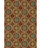 RugStudio presents Loloi Francesca Fc-19 Spice / Dark Gold Hand-Hooked Area Rug