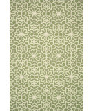 RugStudio presents Loloi Francesca Fc-30 Green Hand-Hooked Area Rug