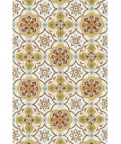 RugStudio presents Loloi Francesca Fc-33 Ivory / Maize Hand-Hooked Area Rug