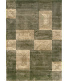 RugStudio presents Loloi Floyd Fl-05 Olive / Sage Hand-Knotted, Best Quality Area Rug