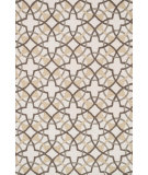 RugStudio presents Loloi Francesca FC-42 Ivory / Brown Hand-Hooked Area Rug