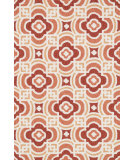 RugStudio presents Loloi Francesca FC-46 Orange / Spice Hand-Hooked Area Rug