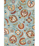 RugStudio presents Loloi Francesca Fc-52 Blue - Spice Hand-Hooked Area Rug