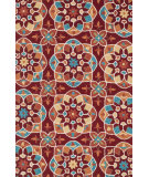 RugStudio presents Loloi Francesca FC-55 Red / Spice Hand-Hooked Area Rug