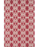 RugStudio presents Loloi Felix Fx-01 Red / Ivory Machine Woven, Good Quality Area Rug