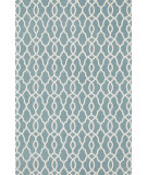 RugStudio presents Loloi Felix Fx-02 Blue / Ivory Machine Woven, Good Quality Area Rug