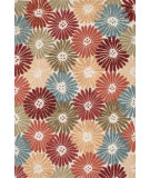 RugStudio presents Loloi Gabriella GB-01 Floral / Multi Hand-Hooked Area Rug