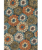 RugStudio presents Loloi Gabriella GB-02 Navy / Multi Hand-Hooked Area Rug