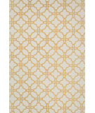 RugStudio presents Loloi Geo GE-02 Ivory / Camel Flat-Woven Area Rug