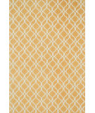RugStudio presents Loloi Geo GE-03 Camel / Ivory Flat-Woven Area Rug