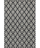 RugStudio presents Loloi Geo GE-03 Charcoal / Ivory Flat-Woven Area Rug