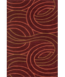 RugStudio presents Rugstudio Sample Sale 40137R Red Hand-Tufted, Good Quality Area Rug