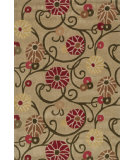 RugStudio presents Loloi Grant Gr-07 Beige-Multi Hand-Tufted, Good Quality Area Rug