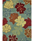RugStudio presents Loloi Grant Gr-17 Sea / Multi Hand-Tufted, Better Quality Area Rug