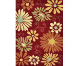 RugStudio presents Loloi Grant Gr-18 Crimson / Multi Hand-Tufted, Better Quality Area Rug
