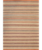 RugStudio presents Loloi Green Valley GV-02 Terracotta / Stripe Sisal/Seagrass/Jute Area Rug