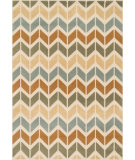 RugStudio presents Loloi Goodwin GW-03 Ivory / Multi Machine Woven, Better Quality Area Rug