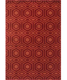 RugStudio presents Loloi Goodwin GW-05 Red / Rust Machine Woven, Better Quality Area Rug