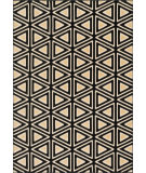 RugStudio presents Loloi Goodwin GW-08 Black / Beige Machine Woven, Better Quality Area Rug