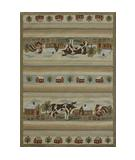 RugStudio presents Loloi Hampton HA-01 Farm Sage Hand-Hooked Area Rug