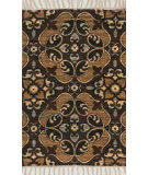 RugStudio presents Loloi Aria AR-02 Brown / Gold Flat-Woven Area Rug