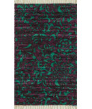 RugStudio presents Loloi Aria AR-14 Purple / Turquoise Flat-Woven Area Rug
