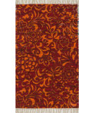 RugStudio presents Loloi Aria AR-14 Red / Orange Flat-Woven Area Rug