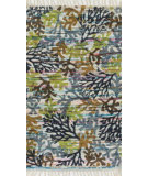 RugStudio presents Loloi Aria AR-22 Grey / Multi Flat-Woven Area Rug