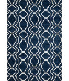 RugStudio presents Loloi Cassidy CD-01 Navy Machine Woven, Good Quality Area Rug