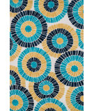 RugStudio presents Loloi Cassidy Casshcd02bbml Blue / Multi Machine Woven, Good Quality Area Rug