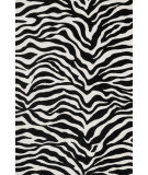 RugStudio presents Loloi Cassidy Casshcd03ivbl Ivory / Black Machine Woven, Good Quality Area Rug