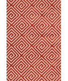 RugStudio presents Loloi Cassidy CD-05 Rust Machine Woven, Good Quality Area Rug