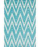RugStudio presents Loloi Cassidy CD-08 Aqua Machine Woven, Good Quality Area Rug