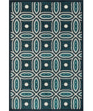 RugStudio presents Loloi Catalina Hcathcf02nvpx Navy / Peacock Machine Woven, Good Quality Area Rug