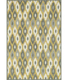 RugStudio presents Loloi Catalina Hcathcf03xcml Citron / Multi Machine Woven, Good Quality Area Rug